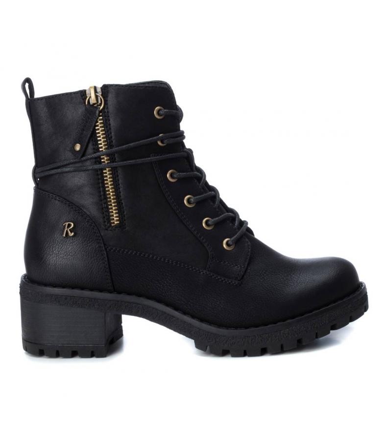 Refresh Botas de tornozelo 072670 preto - Altura do calcanhar 5cm