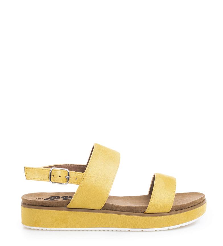 Comprar Refresh Yellow Lisa Sandals - Platform height: 3cm-