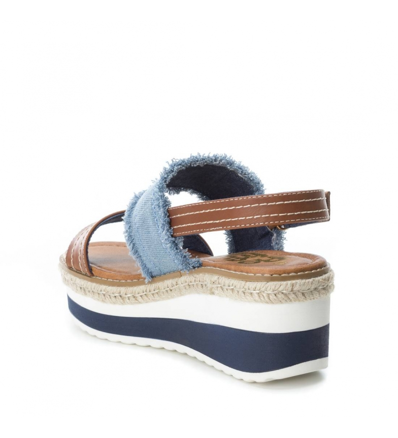 Altura Sandalias 7cm jeans Refresh cuña gESIdUn