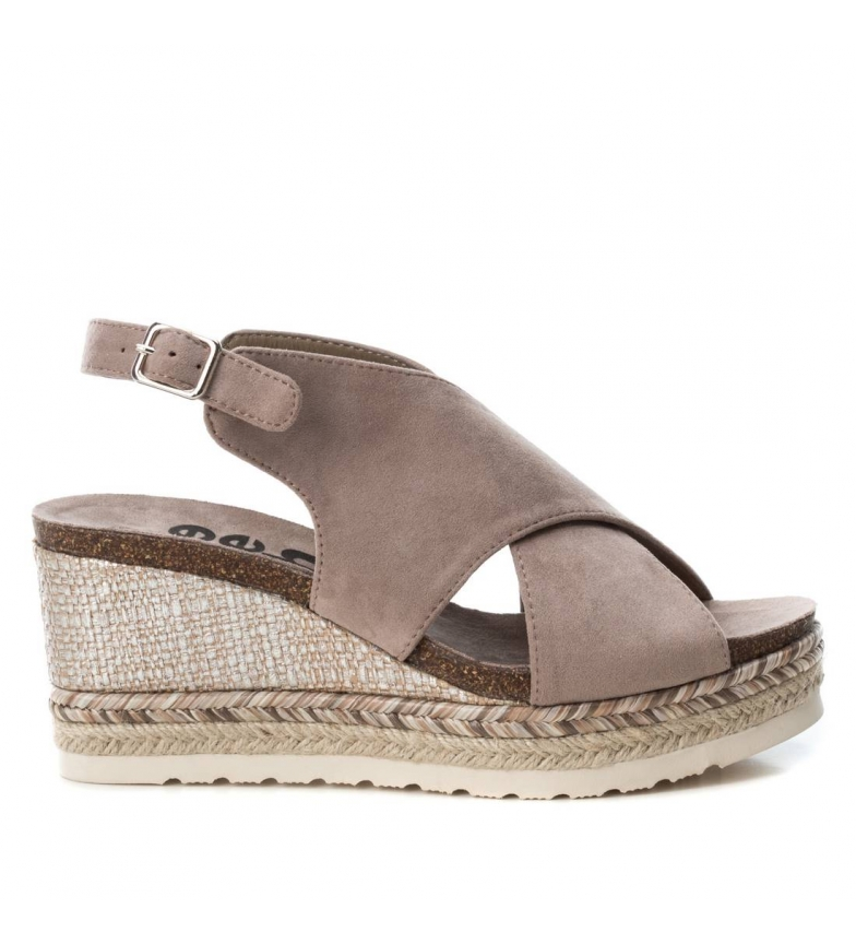 Comprar Refresh Sandal 069815 taupe - Wedge height: 9cm