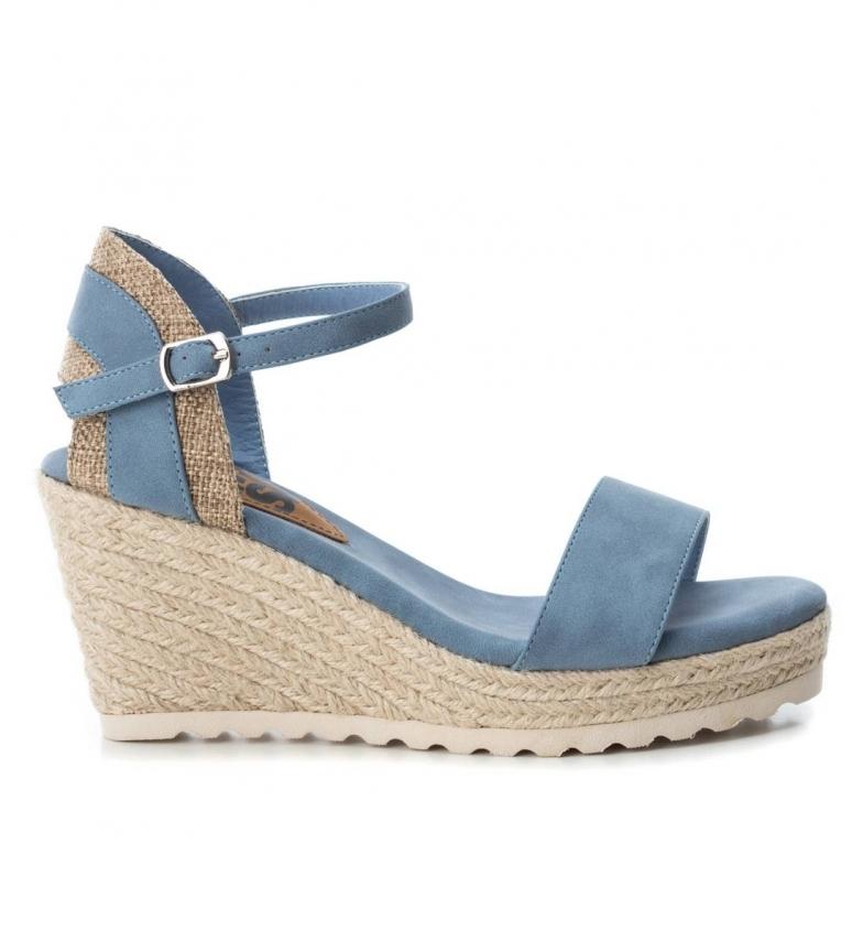 Comprar Refresh Sandalo 069717 blu marino - Altezza cuneo: 8.5cm-