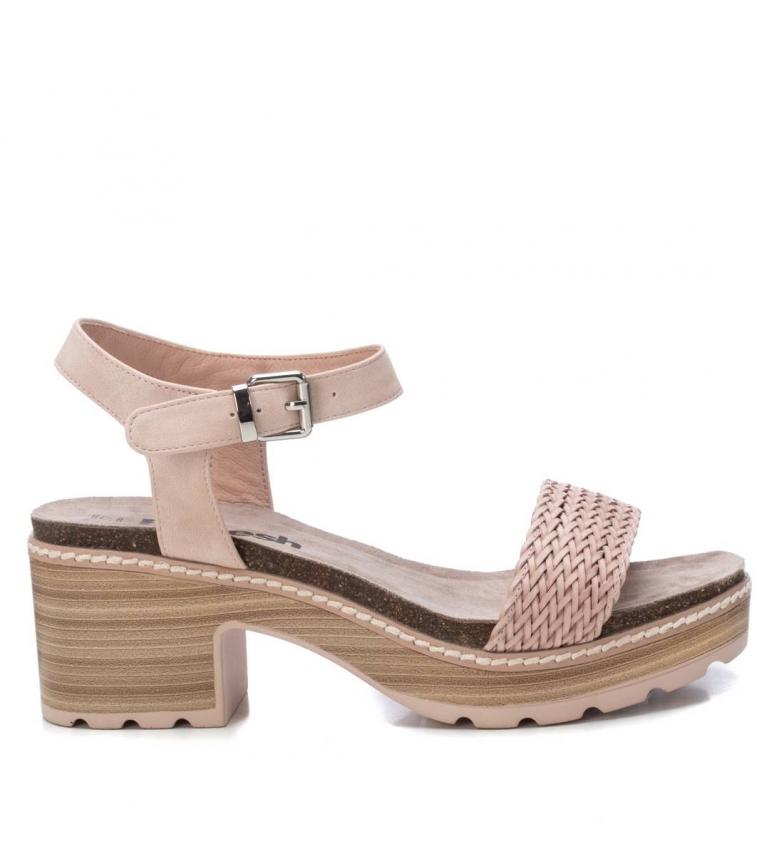 Comprar Refresh Sandálias 069500 castanho - altura da roda: 7cm