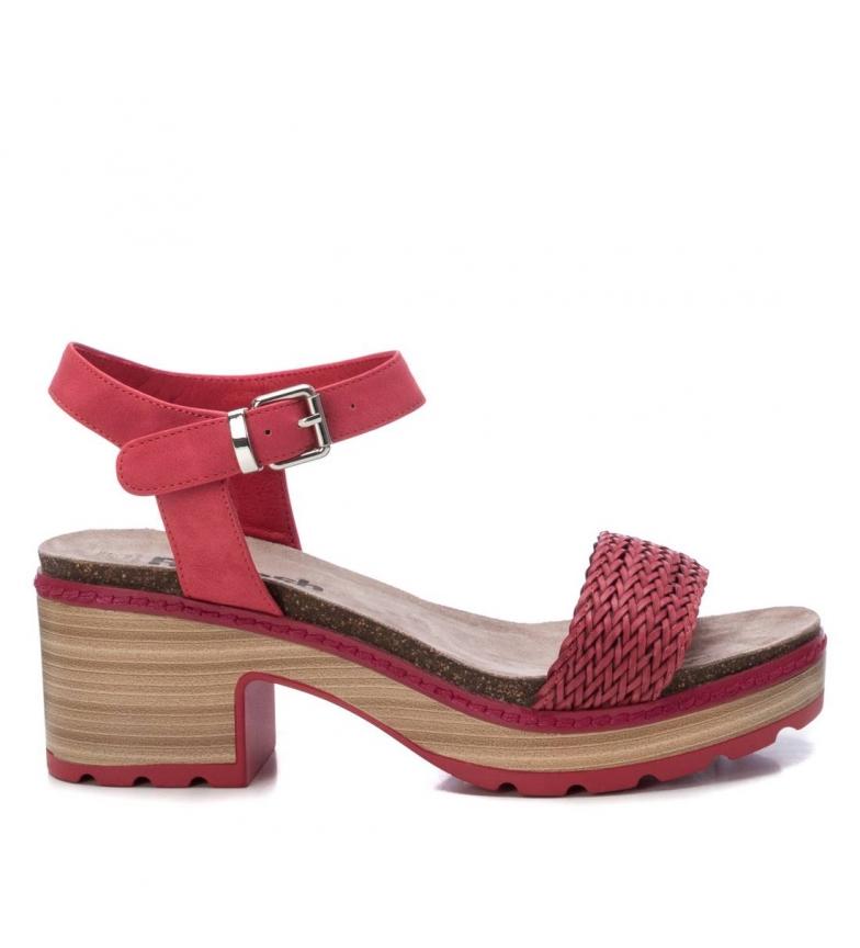 Comprar Refresh Sandálias 069500 calcanhar vermelho - altura: 7cm