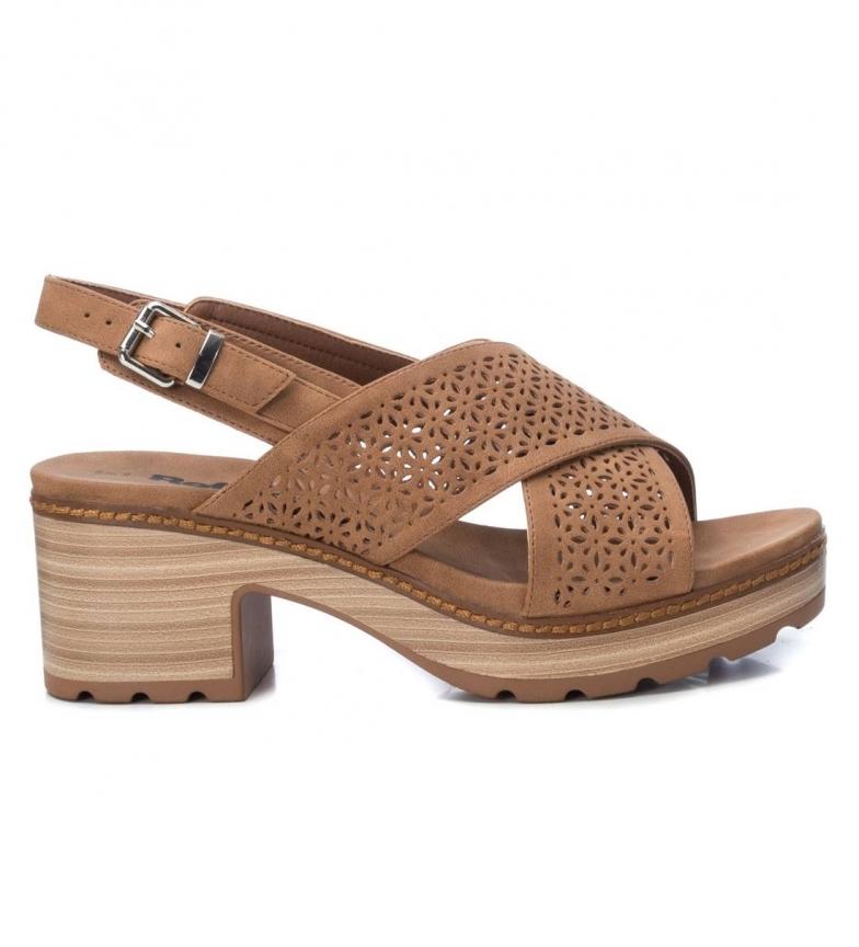 Comprar Refresh Sandales 069501 marron - hauteur du talon : 7cm