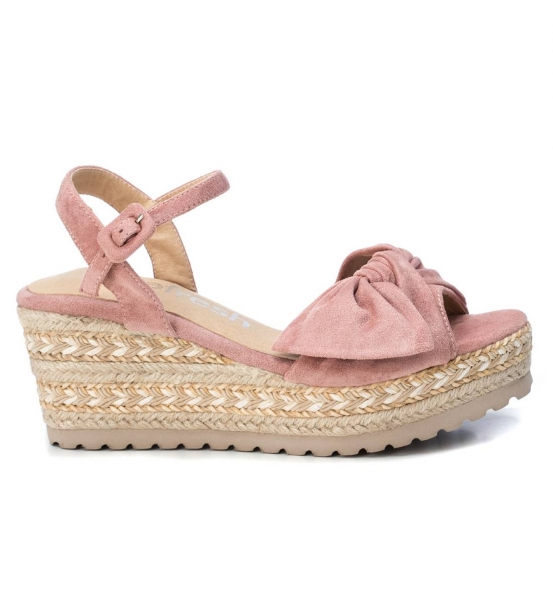 Comprar Refresh Sandálias 069531 rosa - altura da cunha: 7cm