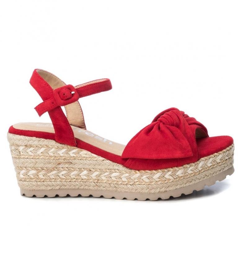 Comprar Refresh Sandalias 069531 rojo -altura cuña: 7cm-
