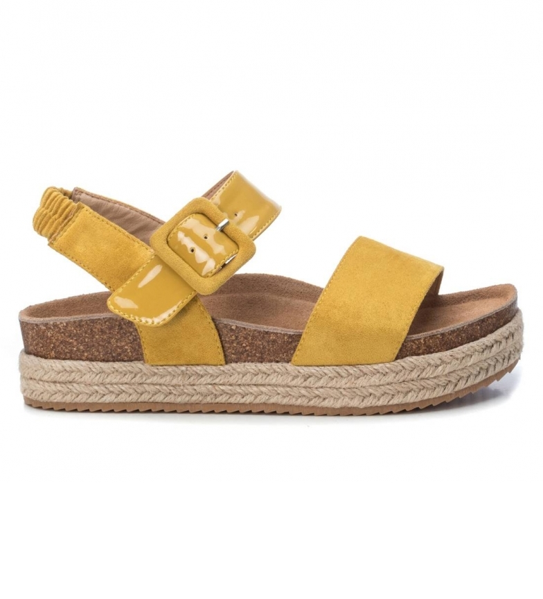 Comprar Refresh Sandals 069647 yellow -Platform height:  4cm