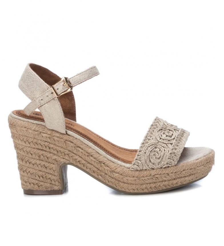 Comprar Refresh Sandals 069679 golden -heeled platform: 10cm