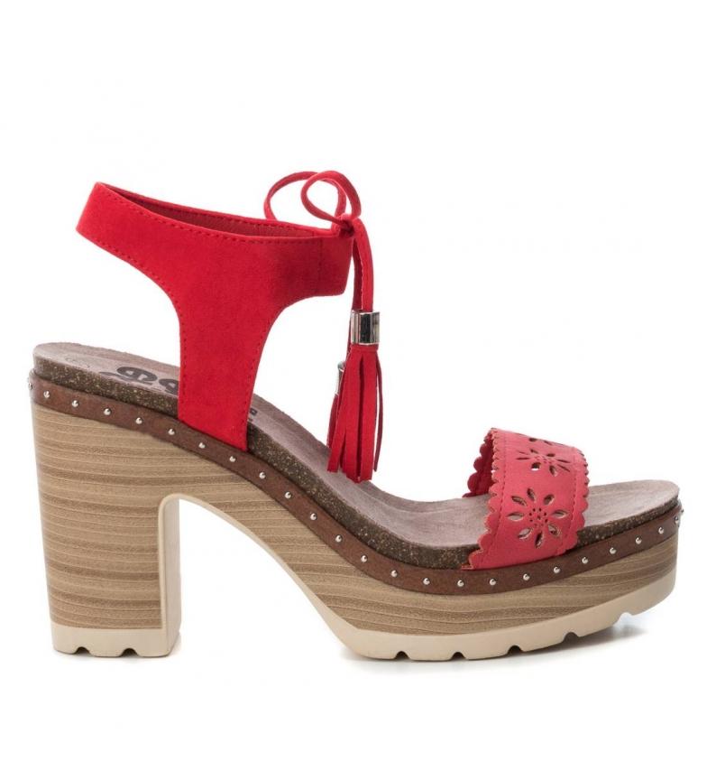 Comprar Refresh Sandálias 069724 vermelho - altura da roda: 10cm