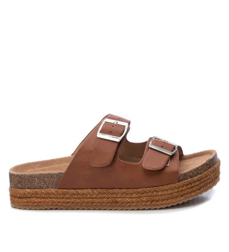 Comprar Refresh Sandálias 069926 marrom - altura da plataforma: 5cm