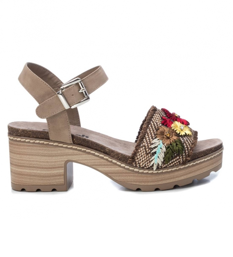 Comprar Refresh Sandali 072216 marrone - altezza del tacco: 7cm