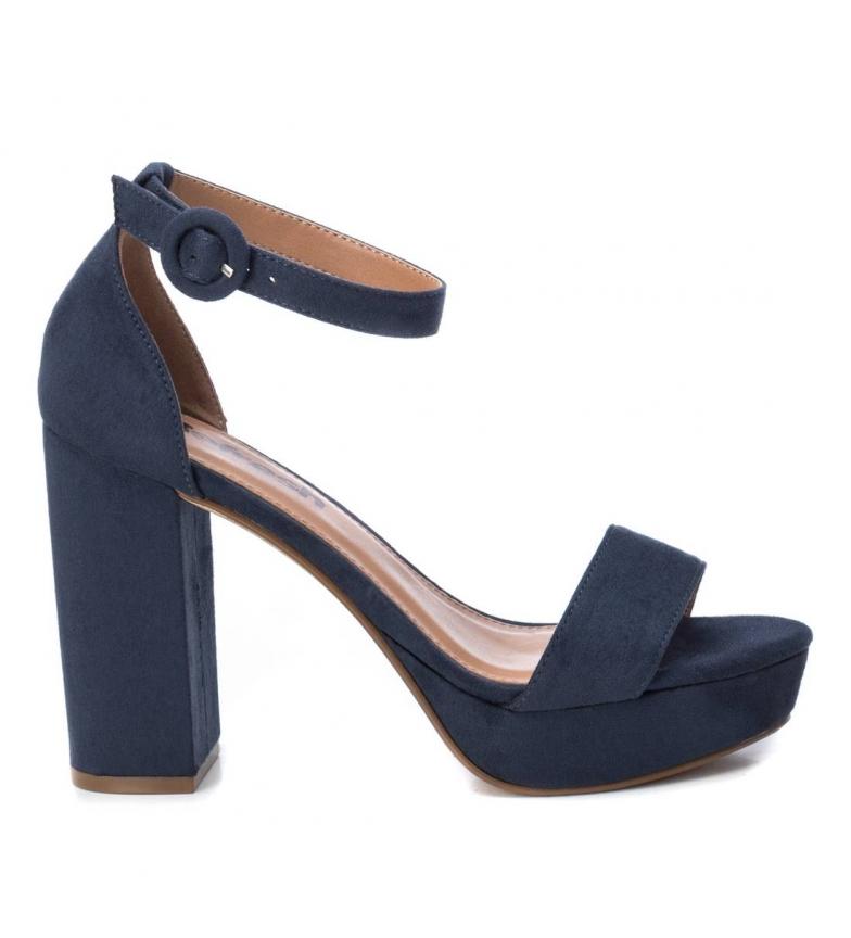 Comprar Refresh Sandálias 072225 marinha - Altura do calcanhar: 11 cm- Altura do calcanhar: 11 cm- Altura do calcanhar: 11 cm- Altura do calcanhar: 11 cm