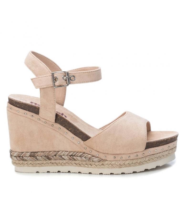 Comprar Refresh Sandálias 072226 nu - altura da cunha: 10cm