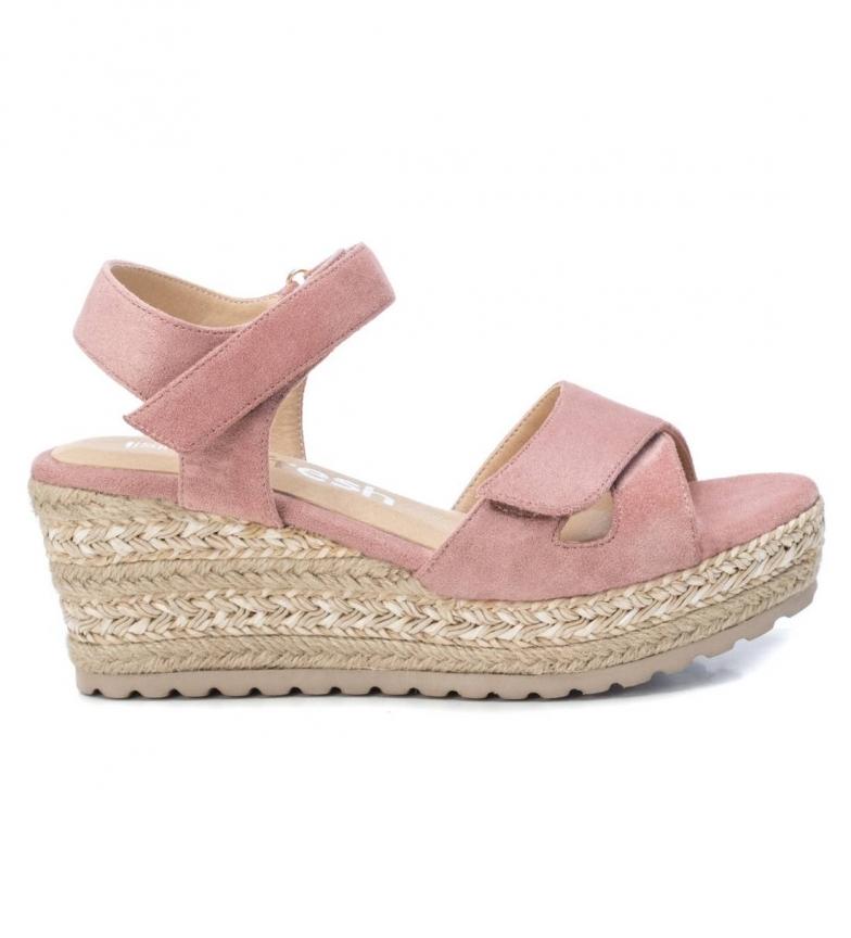 Comprar Refresh Sandálias 072255 nu - Altura da cunha da plataforma: 7cm