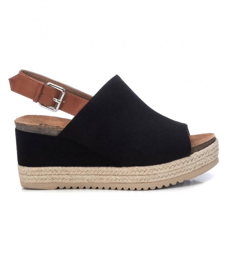 Comprar Refresh Sandálias 072638 preto - Altura do calcanhar: 8cm