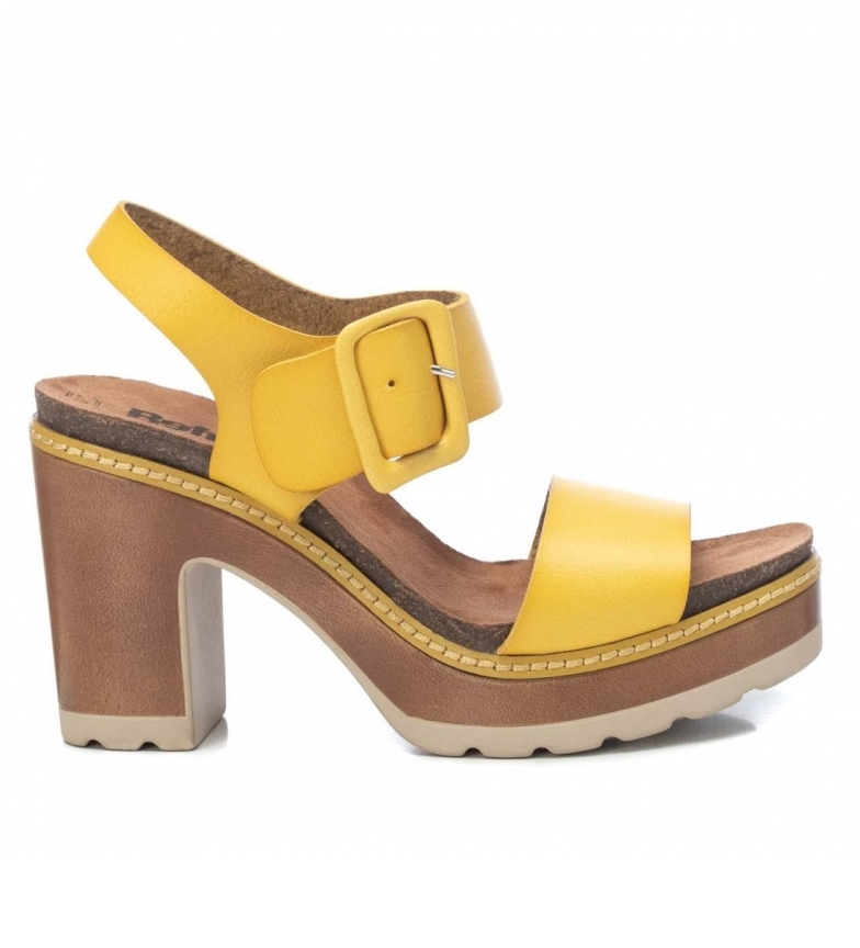Comprar Refresh Sandálias 072683 amarelo Altura do calcanhar: 10cm
