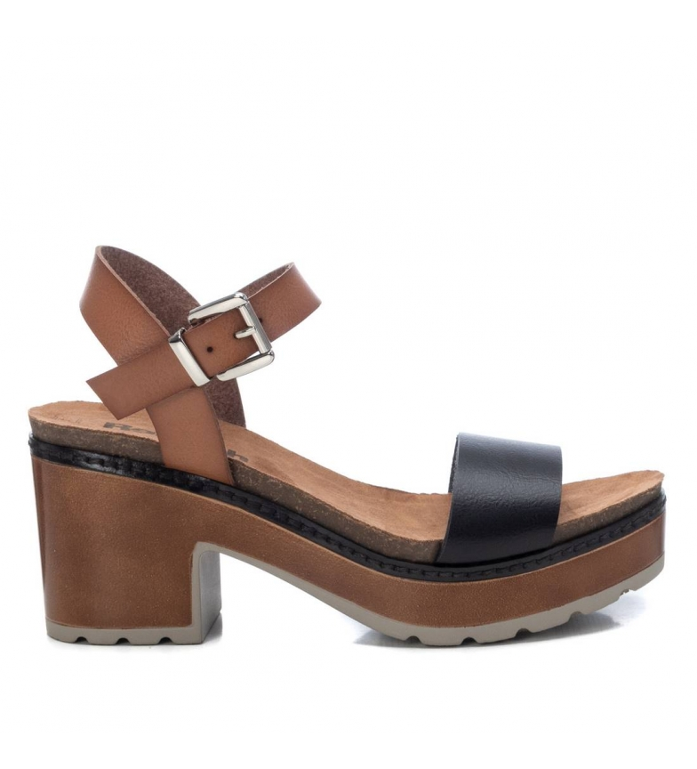 Comprar Refresh Sandálias 072707 - Calcanhar de Altura: 8cm- marinho