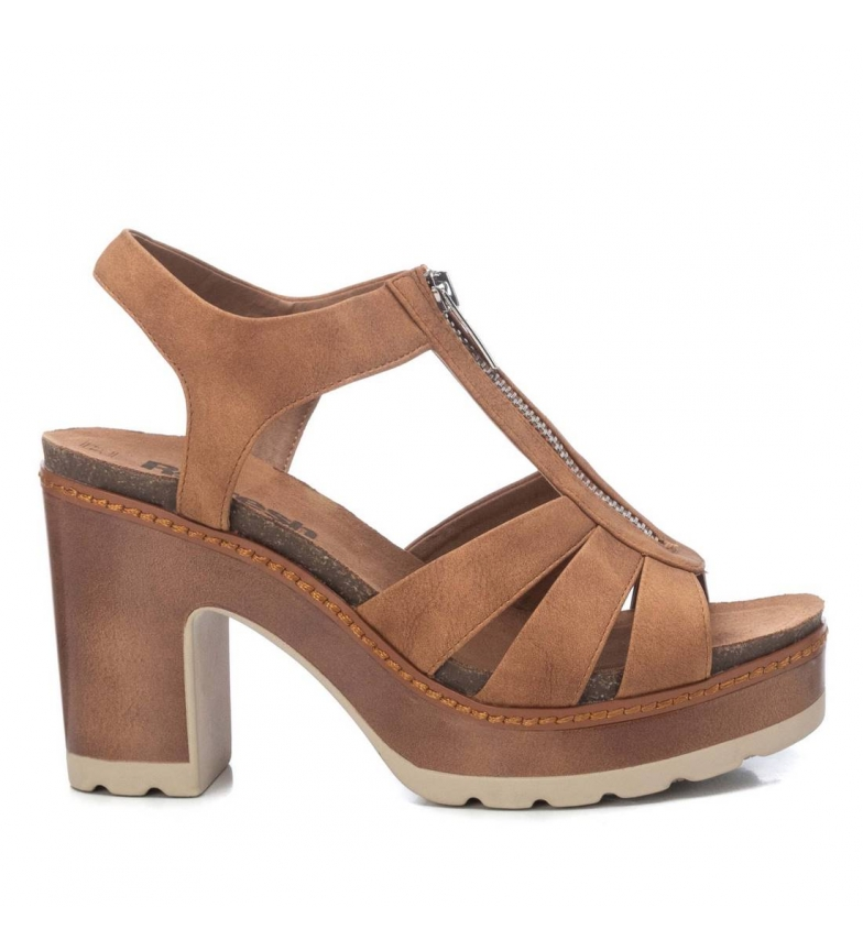 Comprar Refresh Sandálias 072739 marrom  Altura do calcanhar:10cm