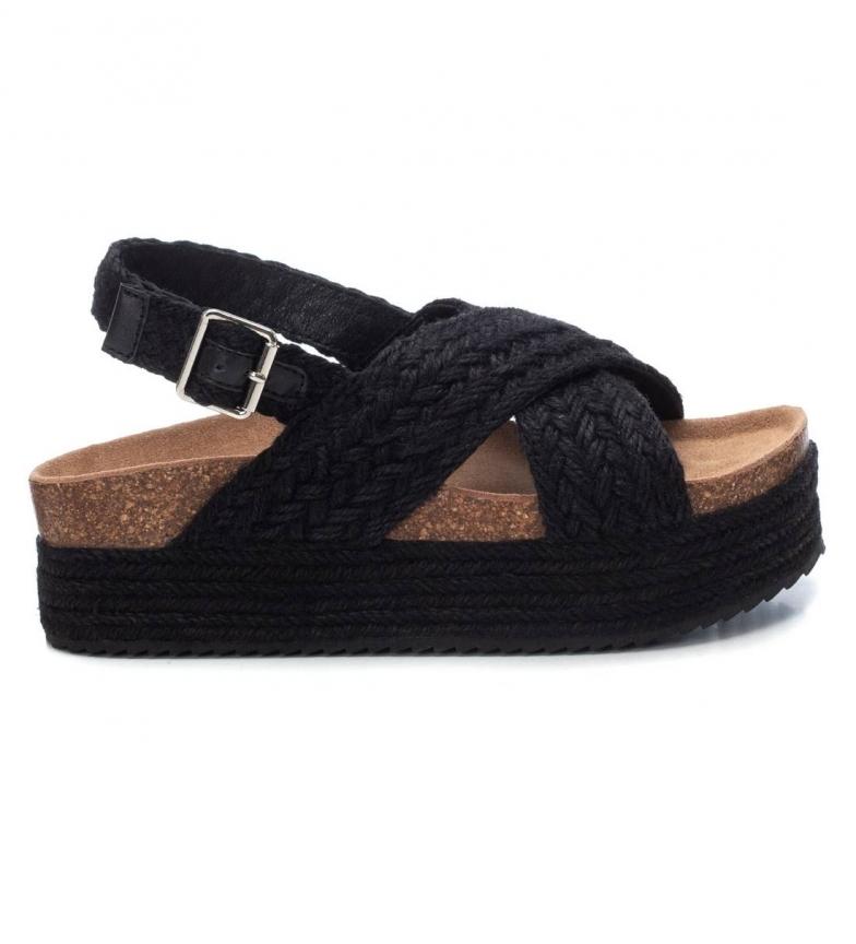 Comprar Refresh Sandales tressées 072822 noir