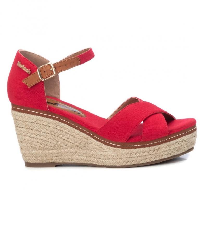 Comprar Refresh Sandálias 072879 vermelho -Cunha de altura: 8cm