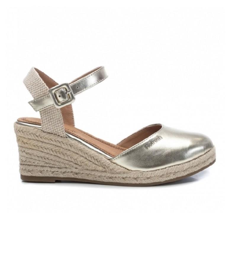 Comprar Refresh Sandals 069569 gold - wedge height: 7cm