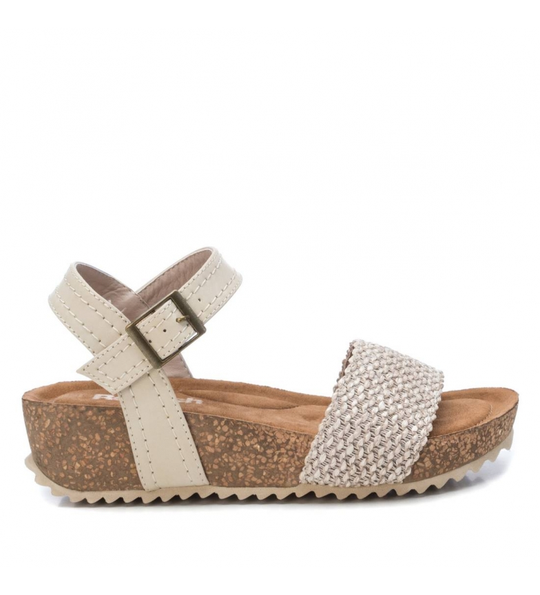 Comprar Refresh Sandals 072259 beige - wedge height: 4cm