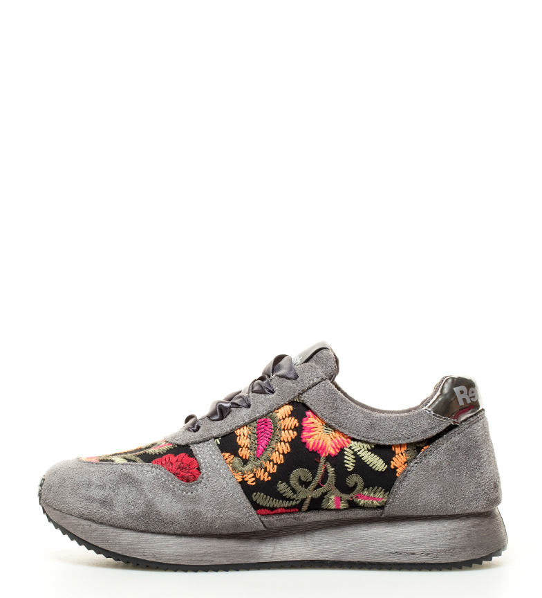 Refresh Zapatillas Addison gris Altura suela: 3,5cm