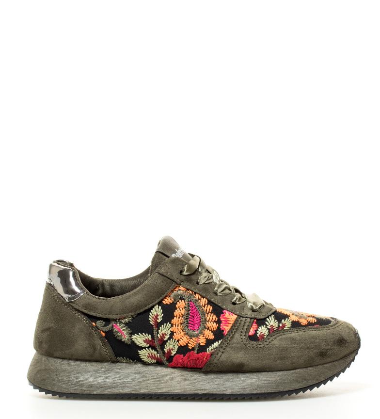 kaki Zapatillas suela Refresh Altura Addison 5cm 3 SUxEf6wq