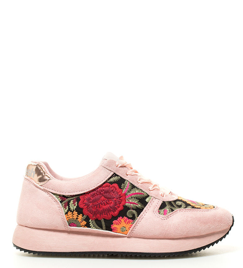 Addison 3 Refresh Zapatillas rosa Refresh Zapatillas suela rosa Altura 5cm Addison fx6xXq7