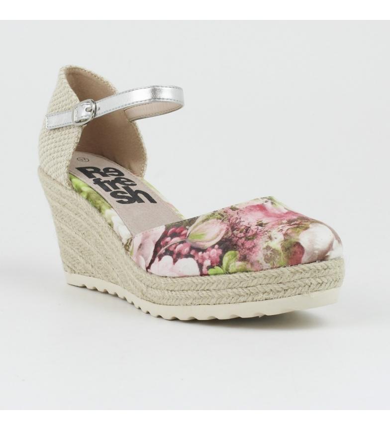 nude Zapato yute cuña Refresh 063312nude nWTIO8O