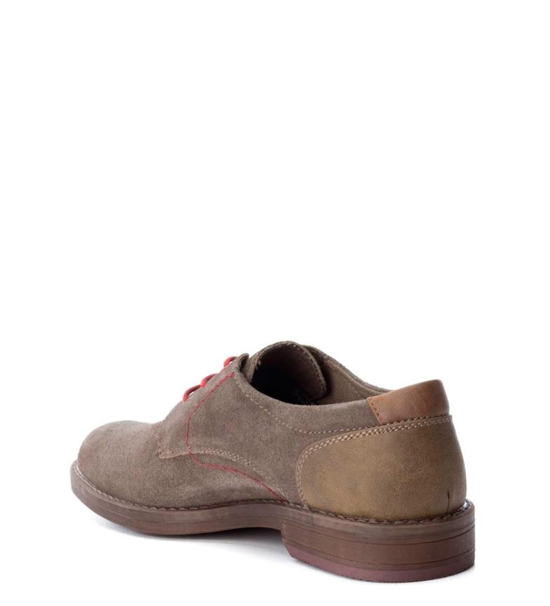 Refresh Zapato de piel taupe