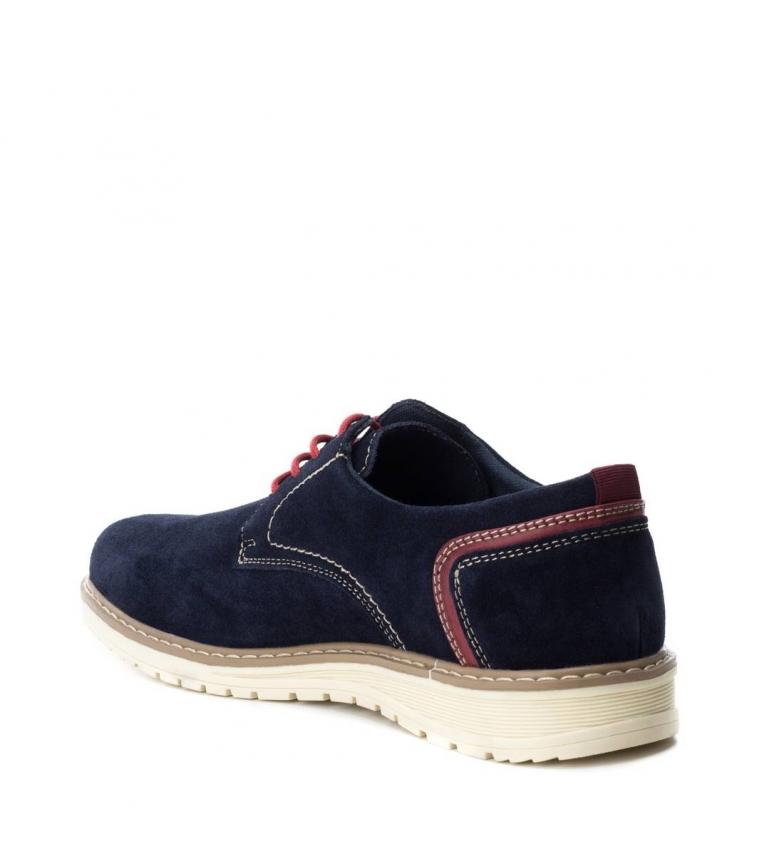 Refresh Zapato de serraje navy