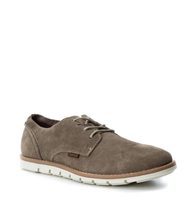 Refresh Zapato de serraje taupe