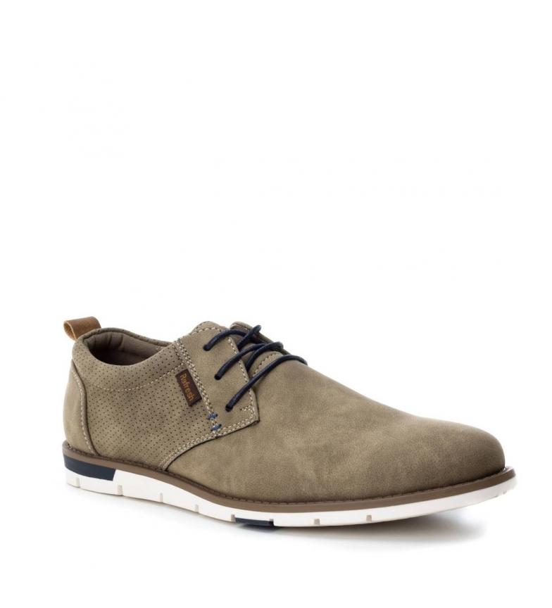 Refresh Zapato blucher taupe