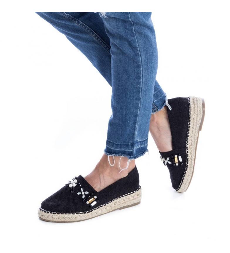 064347 Refresh plano negro negro Zapato Refresh 064347 Refresh plano Zapato wwnORZq8