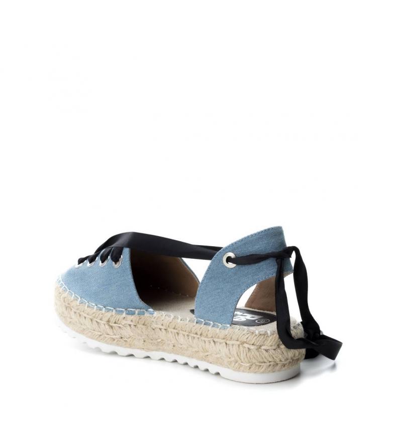 Refresh 4cm plataforma Zapato Altura 064410 plano jeans 4Hr6q4F