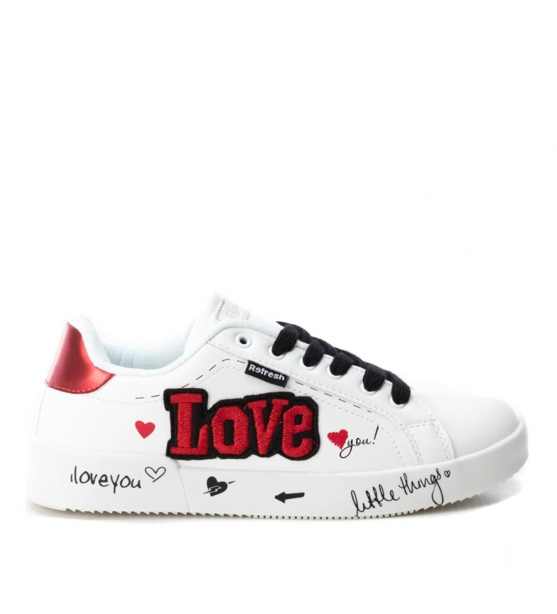 Comprar Refresh Zapatillas Love blanco