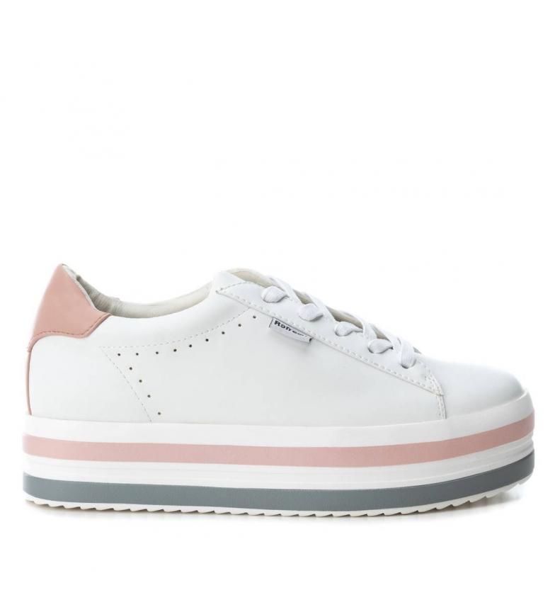Comprar Refresh Zapatillas 069821 blanco, rosa -Altura plataforma: 4cm-