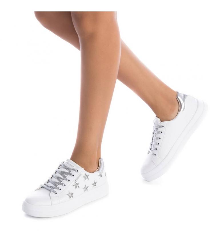 Refresh - Chaussure Chaussure Chaussure 069955 blanc Femme Beige Plat Lacets Casuel 65113d