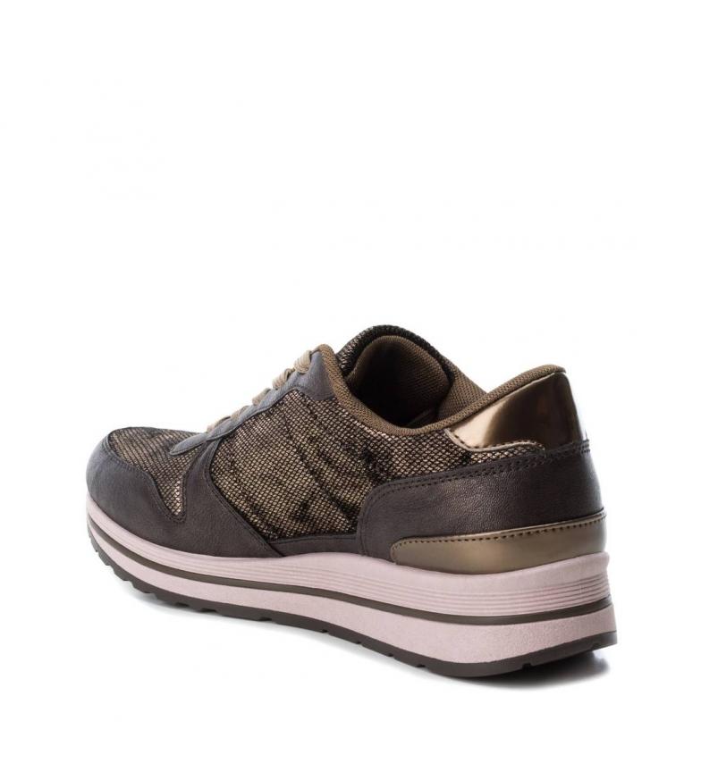 Synthétique Refresh Chaussure Tissu 1 De À Bronze Plat Sport Femme 3 064710 ZO06BZqw