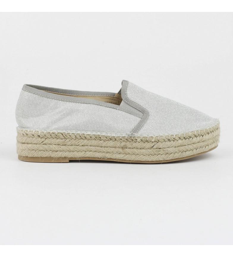 Zapato plata plano 063528pla Refresh yute 0dwOFSqW