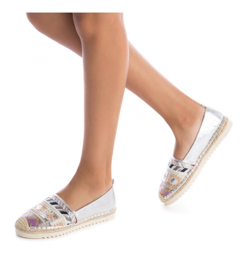 Plata Refresh Plano Yute Zapatos 069777 lJc1TK3F