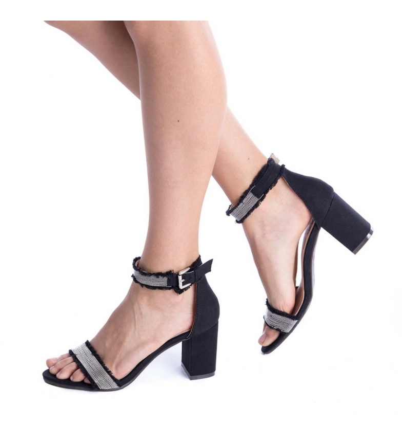 Refresh negro Refresh tacón Refresh tacón negro tacón negro Zapato Zapato Refresh Refresh negro Zapato tacón Zapato dtAqFwRnd