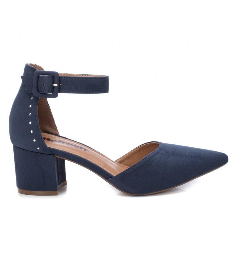 Comprar Refresh Sapatos 069513 azul - Altura do calcanhar: 6cm