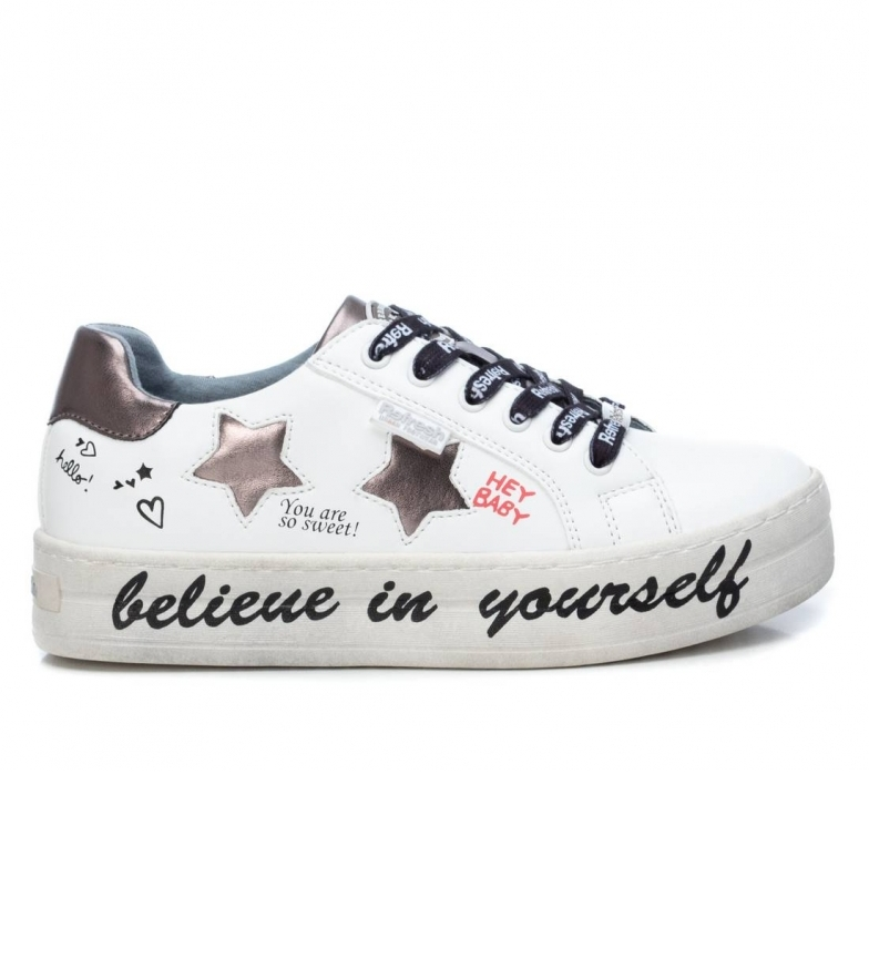 Comprar Refresh Chaussures 072497 blanc -Hauteur de la plate-forme : 4cm