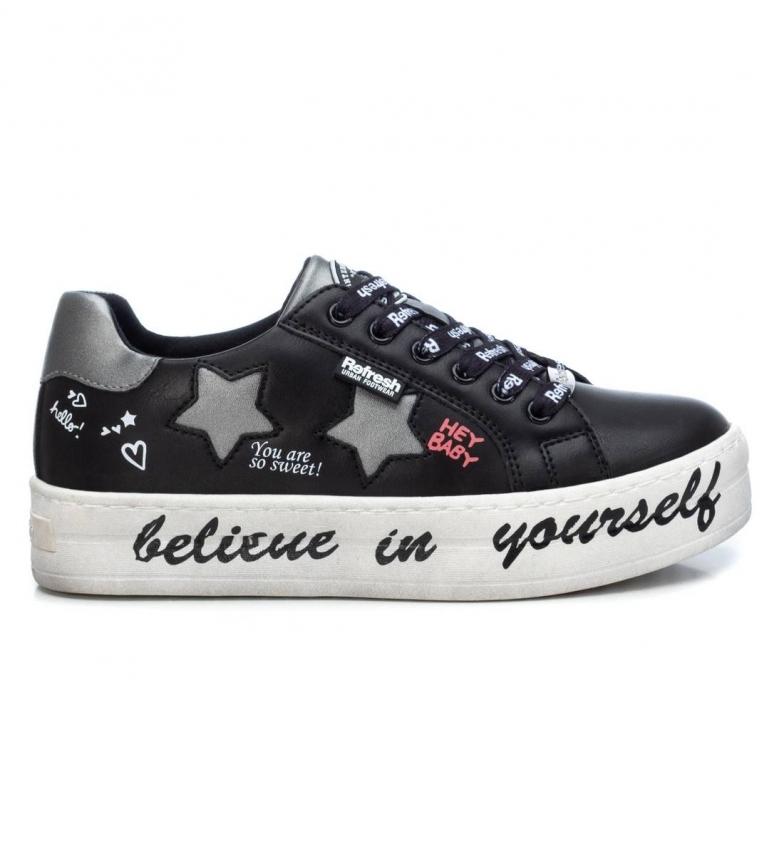 Comprar Refresh Chaussures 072497 noir -Hauteur de la plate-forme : 4cm