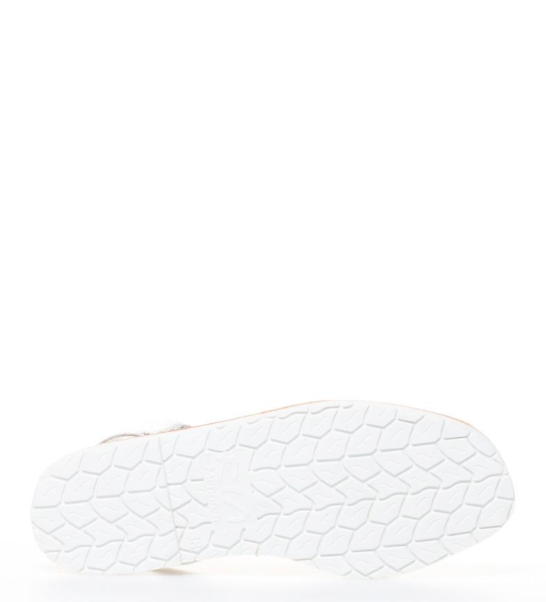 Menorca Avarcas plata Ria piel de ZxS6qn1wa