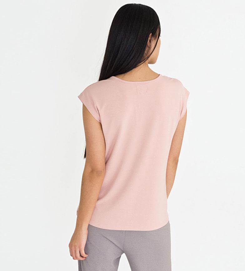 Riverside Camiseta Cigarra rosa