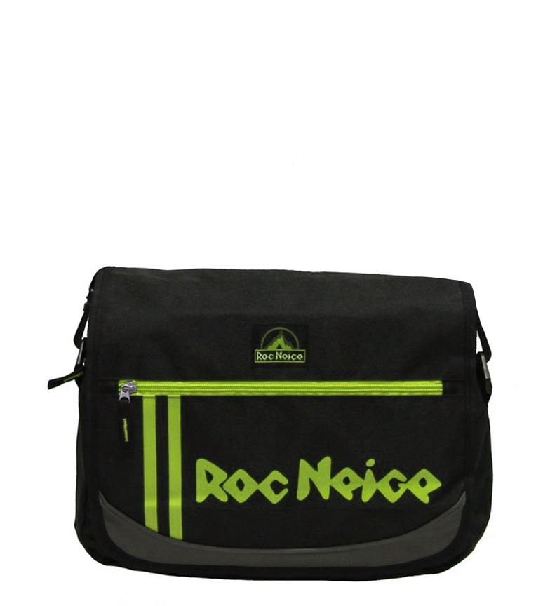 Comprar Roc Neige Bandolera negro, verde -36x27x11cm-