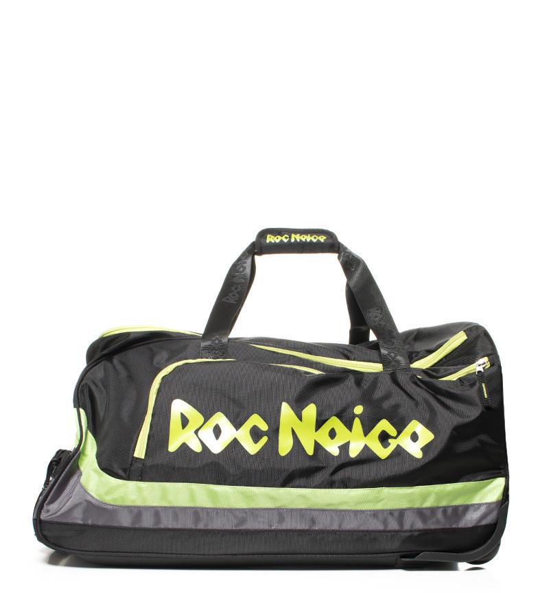 Comprar Roc Neige Sport bag with wheels black, green -65x35,5x33cm-